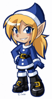Holly the Xmas Elf by rongs1234
