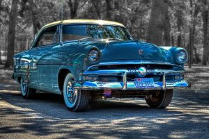 Blue Ford by jmotes
