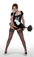French Maid by Area-44