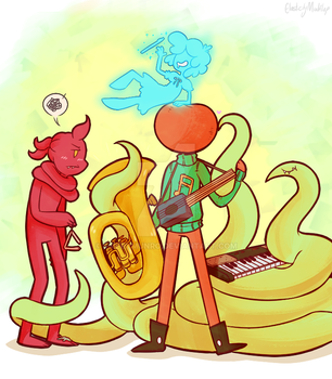 The Best Band by MudflapArts