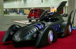 Batmobile, scratch built car by BobbyC1225