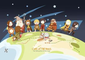 The fellowship of the rings by navy-locked