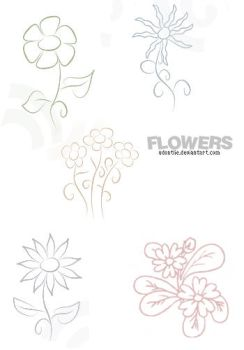 flowers by udontlie