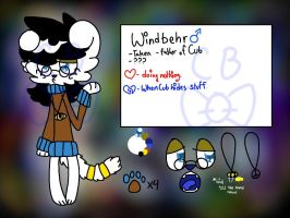 Windbehr Ref from CartoonBowtie by INSPECTORGH0ST