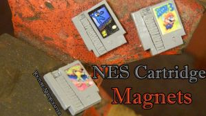 Nintendo Games Magnets by NerdEcrafter
