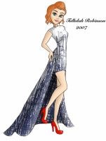Tallulah Robinson designer gown by ruletheworldwithsong