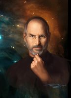 Steve Jobs by sanjun