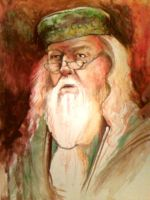 Dumbledore Watercolor by oswalddent