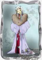 Sesshomaru's Mother by ArtBarker