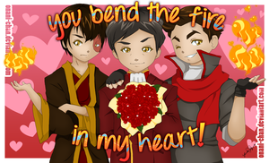You Bend The Fire In My Heart! by onani-chan