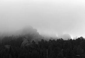 A Mist Over the Black Hills by silverlakephotos