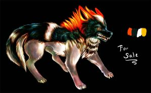 Wolf Design for Sale #2 by emerald-song
