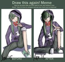 improvement meme: kido [Log] by PoisonicPen