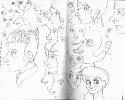 Profile practice by NiftyThistle