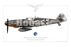 BF-109 G6 EARLY by roback