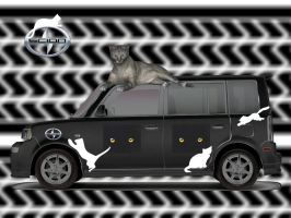 The Car For Cat Lovers by MzKitty45601