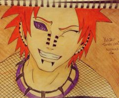 Yahiko / Tendo Pain by charswarrenxo