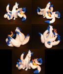 Polymer Clay - Shiny Ninetails by clmoore1035