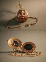 Greenman Locket Neckpiece by EpicEssentials