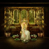 Goldberry In the House of Tom Bombadil by JinxMim