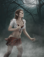 Tattered Kilt Girl Entry #2: Kristen by FullMoonMaster