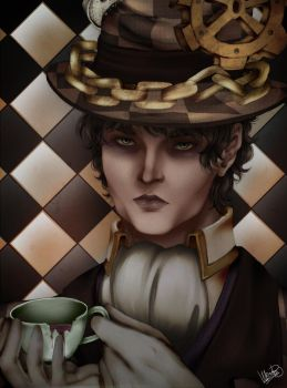 Alice in Wonderland : Mad Hatter by DHackTrix