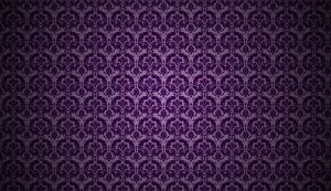 Purple Foil Damask Wallpaper by MT-Schorsch