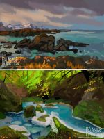 Landscape studies! by kalambo