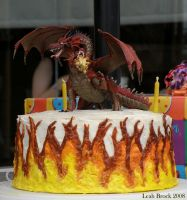 Dragon Cake by zieora