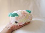 Sea Bunny Slug Crochet Pattern by judithchen