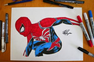 Spider-Man PS4 by Jevith