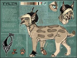 .: Tyler Official Sheet Ref 2015 :. by SillyTheWolf