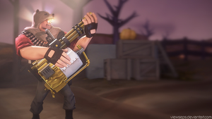 Team Fortress 2 (TF2) - Heavy by ViewSEPS