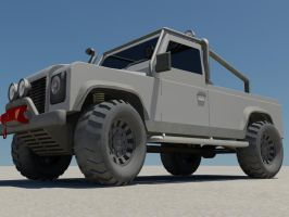 Defender Front 2 by damianf86