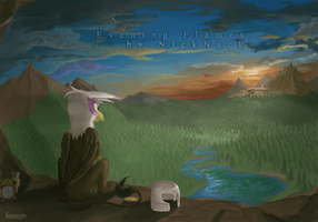 Evening Flames Coverart by Gaiascope