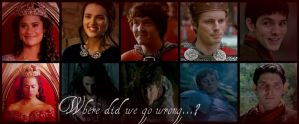 Where did we go wrong? (BBC Merlin) by Gl30