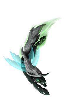 Commission: Dart Wing by Shrineheart