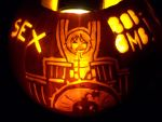 Scott Pilgrim Pumpkin 3: Kim by YXZY