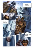 Assassins Creed comic 1st page by carlosCL