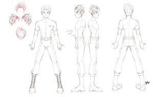 Logan Character Reference Sheet by Project-Cow