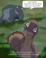 Land Before Time: Littlefoot's New Mother by WeisseEdelweiss