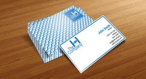 The H Company Business Card by ristovicmilos