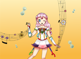 Empress of Seasons, Cure Earthsong by chiyako92