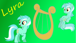 Lyra Wallpaper by Djbrony923