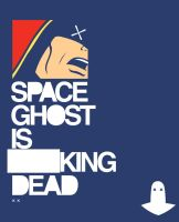 Space Ghost is ---king Dead by Michael-Burleigh