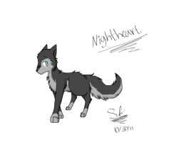 nightheart :request: by The-stray-cat