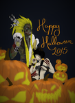 Happy Halloween 2015 by Insanity-is-who-I-am