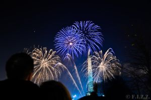 Glasgow Green Fireworks by thechevaliere