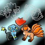 Vulpix x Shinx by CoolUmbreon