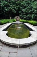 Ridley Creek Fountain by UpInDust